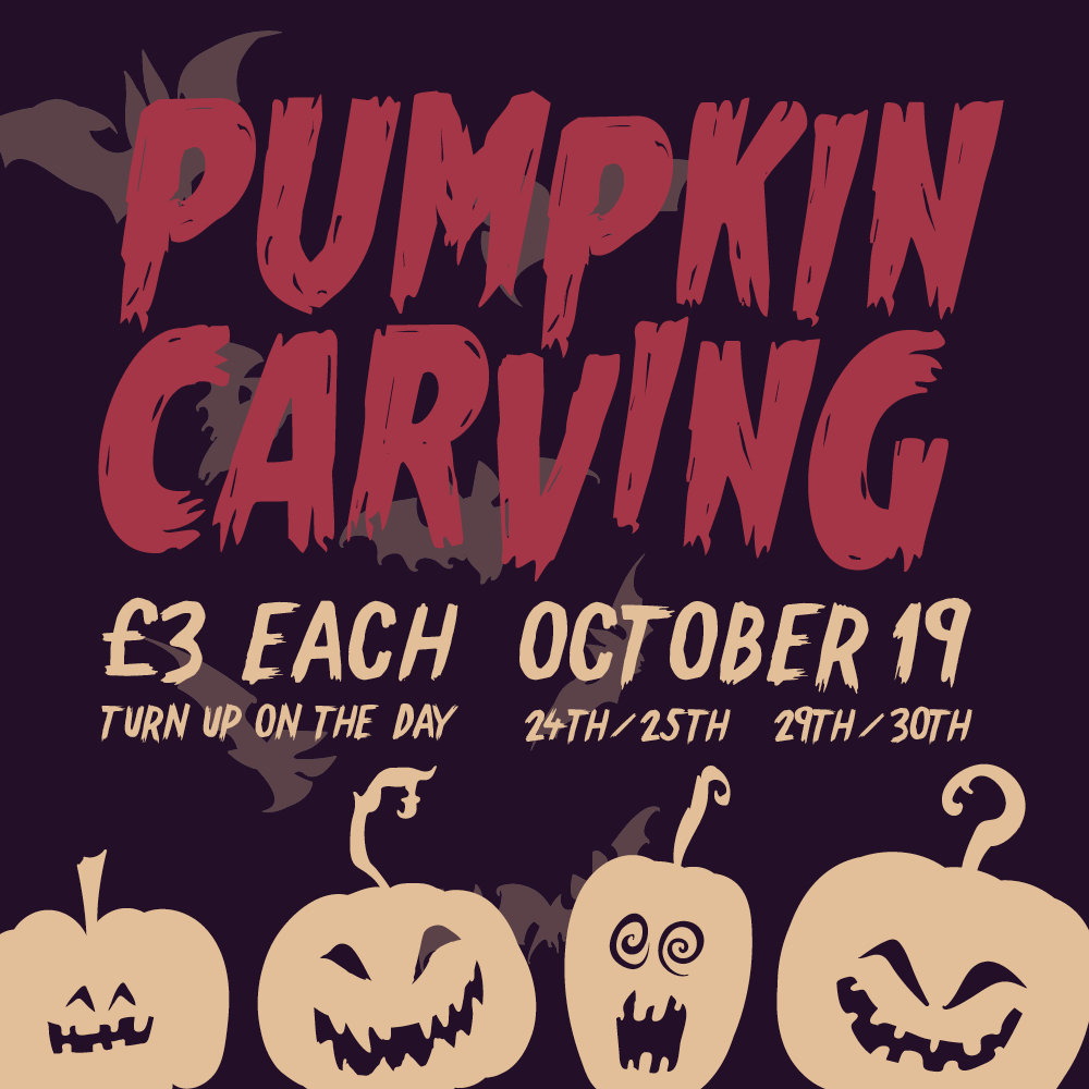 Halloween Pumpkin Carving | Warwickshire and Coventry